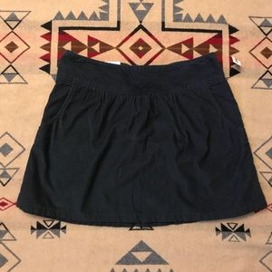 Old Navy Size 4 Navy Blue Corduroy Skirt